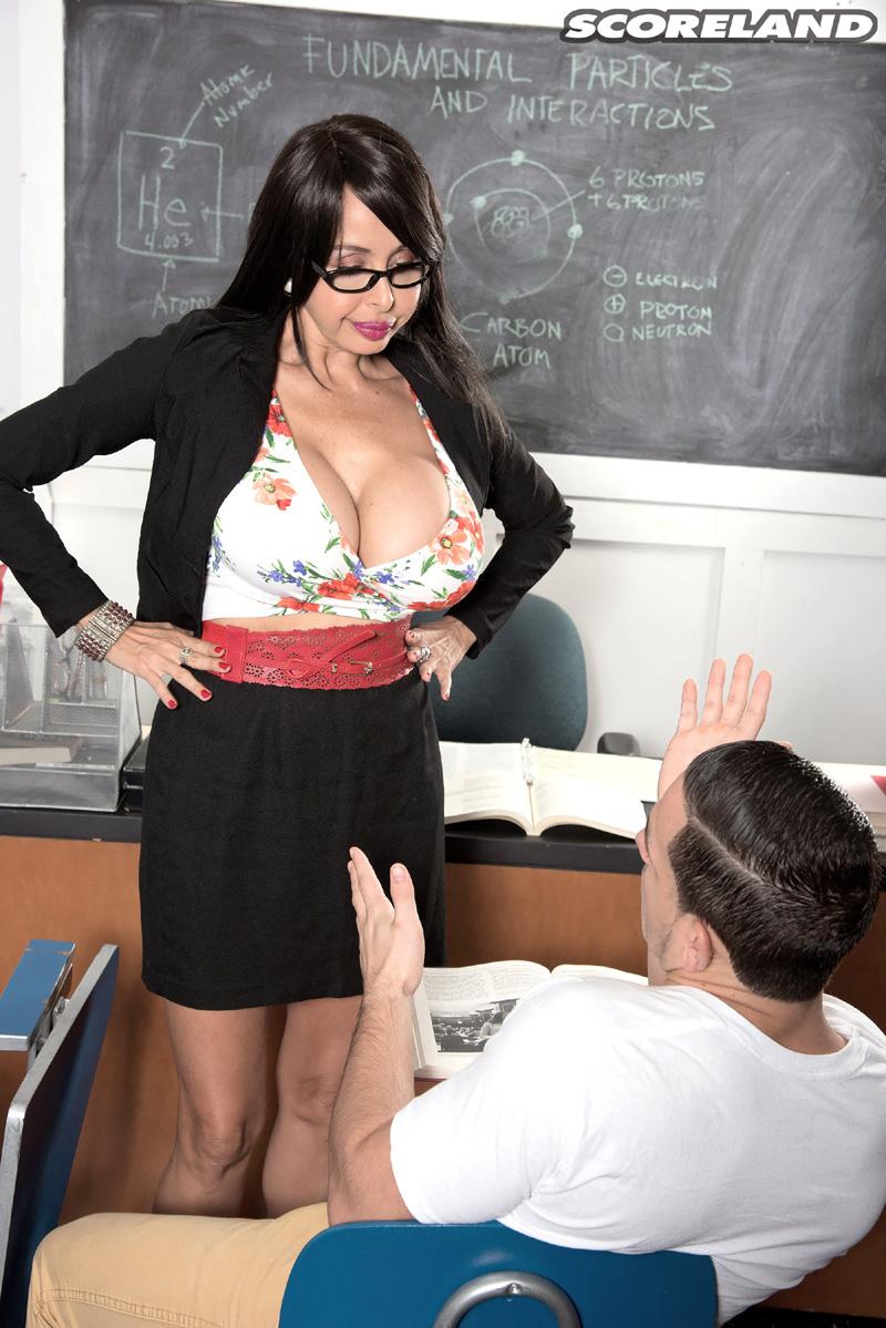 Teacher Busty Porn